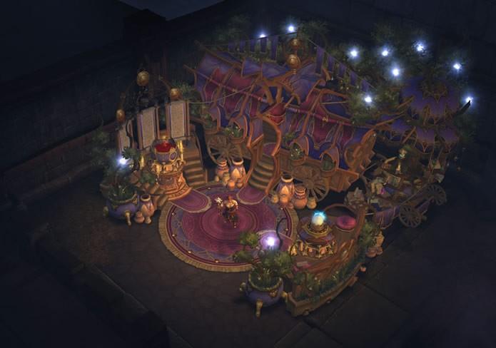 Diablo 3: Reaper of Souls disponibiliza uma nova artesão, a mística Míriam, que encanta e personaliza equipamentos (Foto: Divulgação/Blizzard Entertainment)