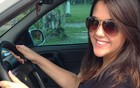 Penitência faz jovem dirigir mais devagar  (Milena Ribeiro/Arquivo Pessoal)