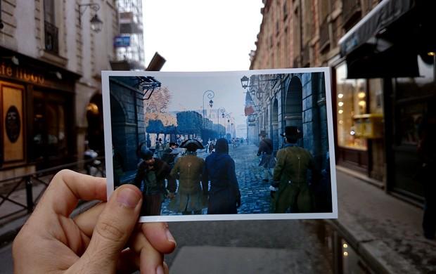 Ruas de Paris foram reconstruídas com fidelidade dentro do novo 'Assassin's Creed' (Foto: Arquivo Pessoal/Damien Hypolite)