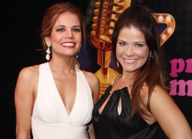 Nívea Stelmann e Samara Felippo (Foto: AgNews)