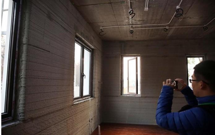 Por dentro do edifício: janelas foram embutidas nos apartamentos (Foto: Reprodução/Cnet)