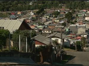 Moradores de Caxias do Sul, na Serra do RS, sentem tremores na terra (Foto: Reprodução/RBS TV)