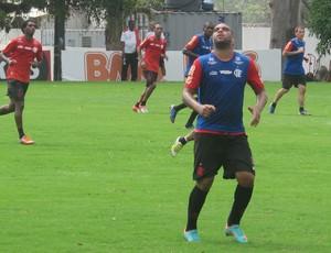 adriano flamengo (Foto: Thiago Lima/Globoesporte.com)