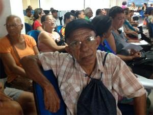 Wilson Calasans Mascarenhas, 66 anos (Foto: Juliana Almirante/ G1 Bahia)
