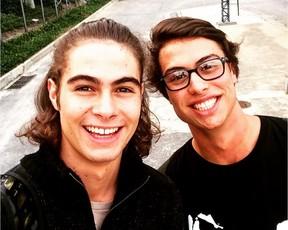 Os irmãos Rafael Vitti e Francisco Vitti (Foto: Reprodução/Instagram)