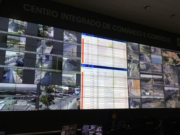 Telas em tempo real utilizadas no cotidiano também servirão para Jogos Olimpicos (Foto: Henrique Coelho/G1)