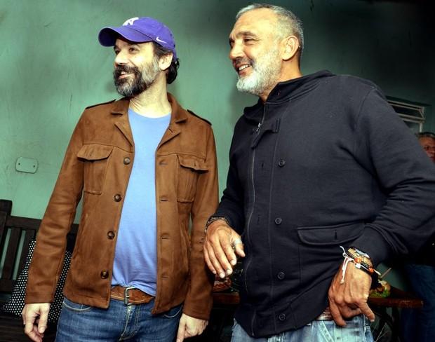 Mauro Lima e Papinha (Foto: CRISTINA GRANATO/Divulgação)