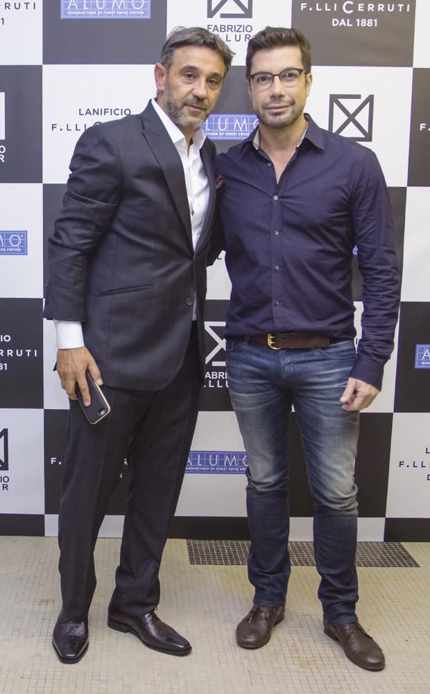 Marcelo Faisal e Fernando Torquatto  (Foto: Antonio de Cassyo / Divulgação)