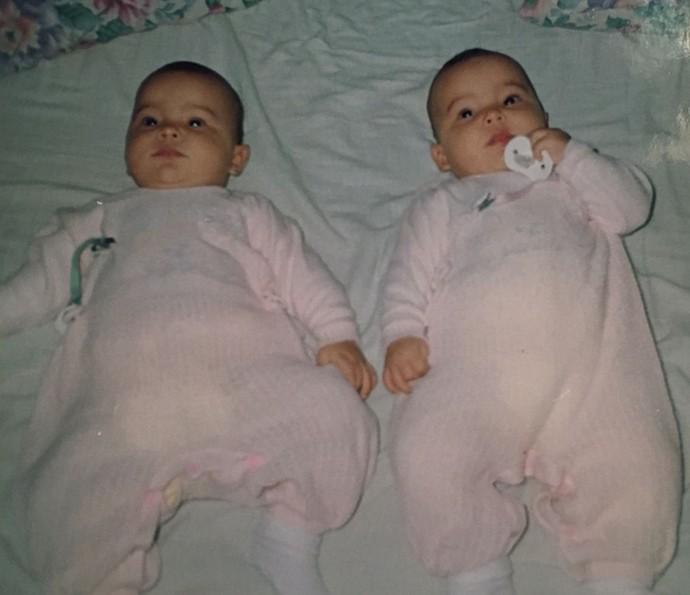 Que bebezinhas mais fofaaaas! (Foto: Arquivo Pessoal)