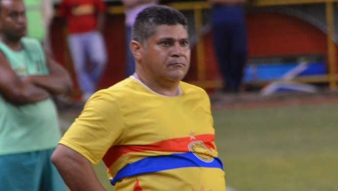 Técnico Célio Ivan, do Plácido de Castro (Foto: Duaine Rodrigues)