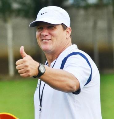 Émerson Matheus, treinador de futebol (Foto: Arquivo pessoal / Émerson Matheus)