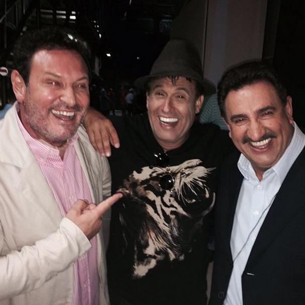 Luis Ricardo, Sérgio Mallandro e Ratinho (Foto: Reprodução/Instagram)