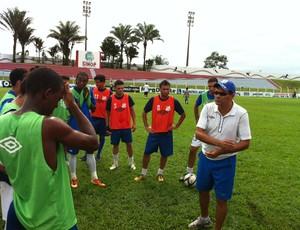 Marcos Caruso treinador do Sinop (Foto: Lucas de Senna/TVCA)