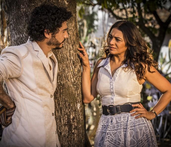 Beatriz e Martim (Foto: Inácio Moraes/ Gshow)