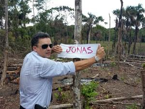 Delegado Sávio Pinto acreditsa que área foi invadida para fins comerciais (Foto: Dema/Divulgação)