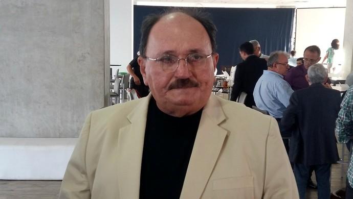 RN - José Vanildo, presidente da FNF (Foto: Jocaff Souza/GloboEsporte.com)