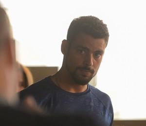 Juliano pede que Zé Maria espere Dante (Foto: Pedro Carrilho/ Gshow)