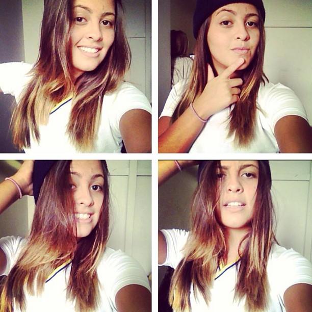 1b7c6a41e EGO - Filha de Romário posta foto fazendo caras e bocas - notícias ...