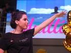 Anitta, é você? Cantora usa figurino comportado em show no Rio