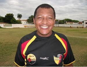 Silva Baiano, técnico do Paraíba de Cajazeiras (Foto: Divulgação / Paraíba de Cajazeiras)
