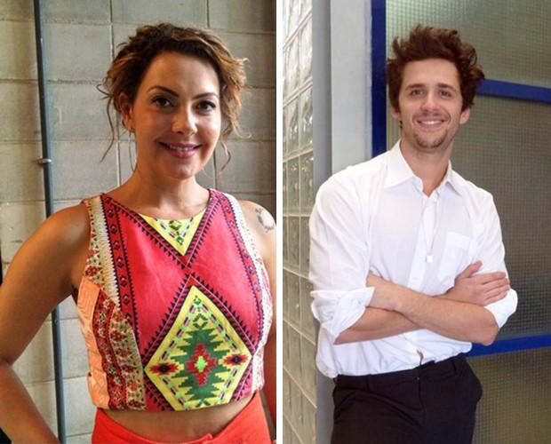 Fabiula Nascimento e Gil Coelho ciriticam preconceito com diferença de idade (Foto: Carolina Berger/Gshow)