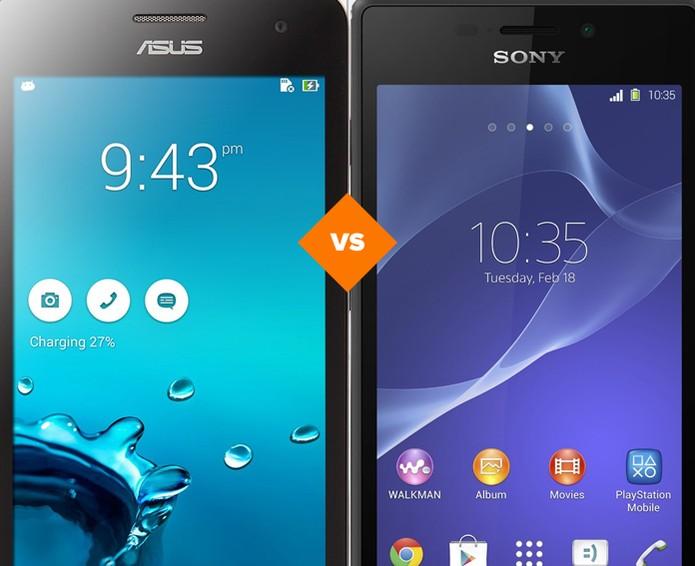 Asus Zenfone 5 ou Xperia M2 Aqua? Veja qual smart é o melhor (Foto: Arte/TechTudo)