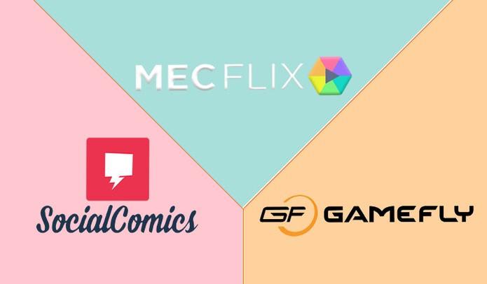 Conheça mais sobre os serviços de streaming MECFlix, Social Comics e o Gamefly (Foto: Reprodução/Barbara Mannara)