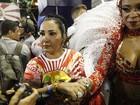 Rainha de bateria da Alegria da Zona Sul quase perde início de desfile no Rio