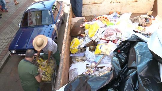 Mais de 5 toneladas de alimentos irregulares são apreendidas no RS