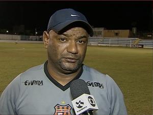 Cícero Monteiro técnico Serra Talhada (Foto: Reprodução / TV Asa Branca)