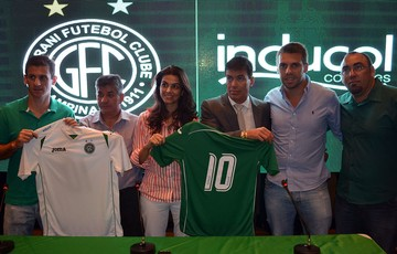 Guarani fecha parceria com empresa de colchões para a temporada 2015 (Foto: José da Cunha / Guarani FC)