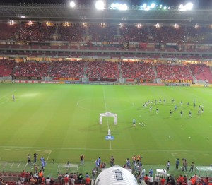 Arena Pernambuco Sport x Palmeiras (Foto: Elton de Castro)