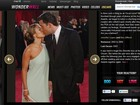 Site lembra ex-casais famosos que já passaram pelo Oscar; veja fotos