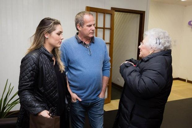 Jayme Monjardim e Tânia Mara sobem a Serra para as comemorações de aniversário de Lia Maria Aguiar (Foto: Renan Livi/ Agência BolhaSet)