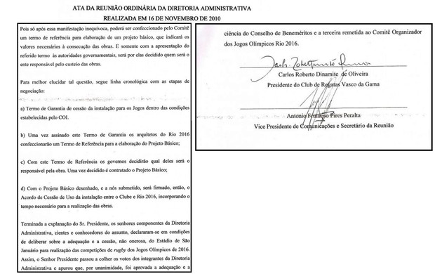 vasco documento parte 2 (Foto: Reprodução)