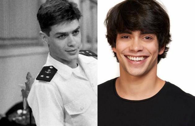 Filho mais velho de Jonas, Lipe será vivido por Oscar Fabião. Na TV, o papel era de Fábio Assunção (Foto: TV Globo/Andre Wanderley)