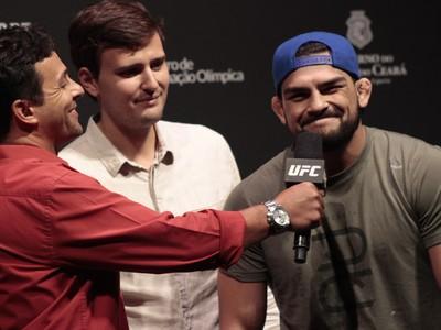 Kelvin Gastelum pesagem UFC Fortaleza MMA (Foto: Adriano Albuquerque)