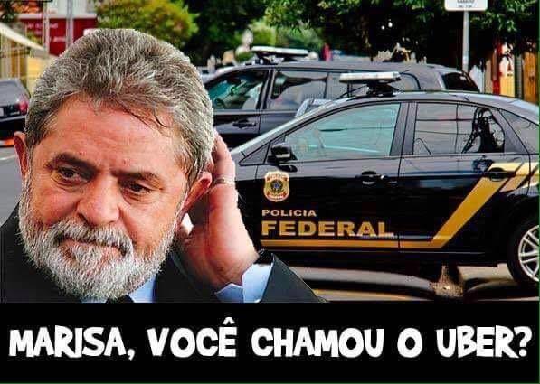 Ida da Polícia Federal à casa de Lula vira piada na internet