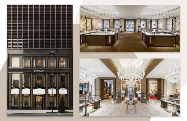 Nova Boutique da Cartier em Ginza, no Japão (Foto: Reprodução)