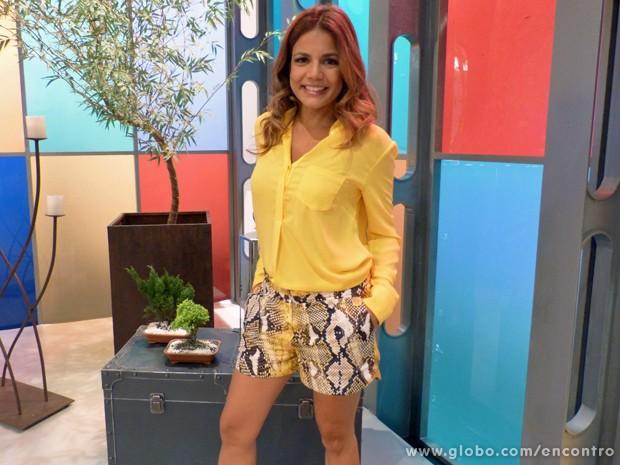 Nívea Stelmann (Foto: Encontro com Fátima Bernardes/TV Globo)