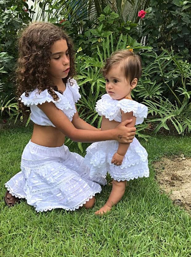 Maria Alice e Maria Júlia (Foto: Reprodução/Instagram)