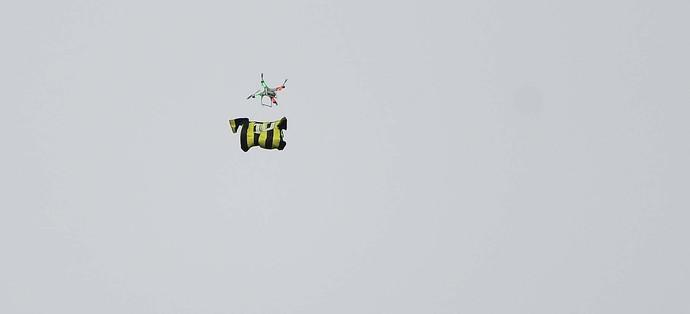 Corinthians x Palmeiras Drone (Foto: Marcos Ribolli)