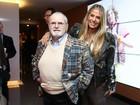 Adriane Galisteu fala sobre peça com Jô Soares: 'Muito generoso'
