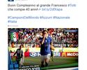 Companheiros e rivais fazem homenagens a Totti por aniversário de 40 anos