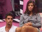 BBB 14: Mãe de Fran não critica noite de amor da filha com Diego