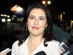 Vice-governadora de Mato Grosso do Sul Simone Tebet  (Foto: Edemir Rodrigues/Divulgação )