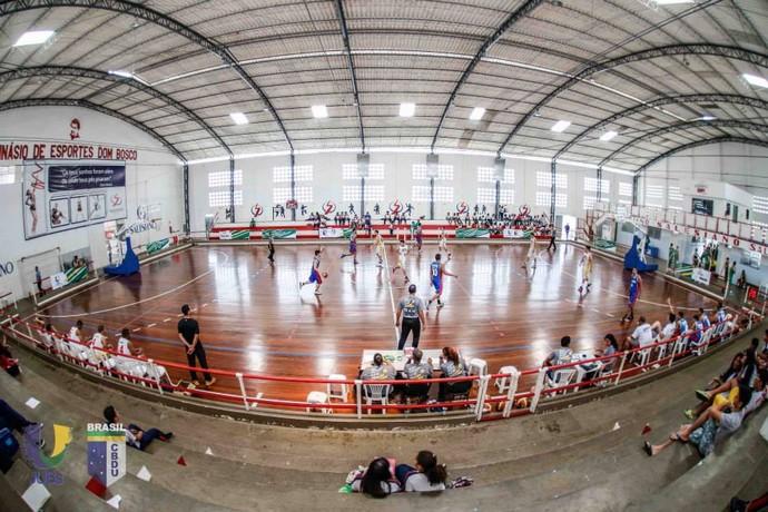 Basquete dos Jogos Universitários Brasileiros (JUBs) (Foto: Divulgação/CBDU)
