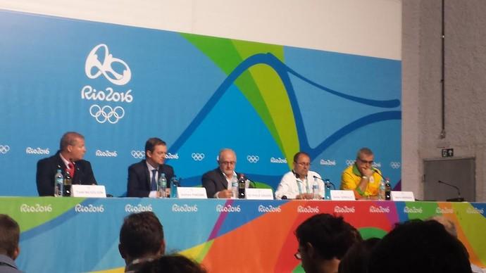Entrevista coletiva Comitê Paralímpico Internacional (Foto: Heitor Esmeriz)