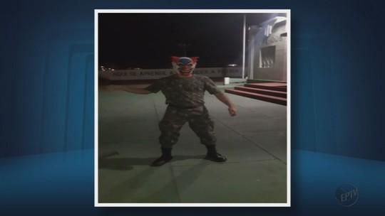 Exército apura caso de militar vestido de 'palhaço sinistro' em TG em MG