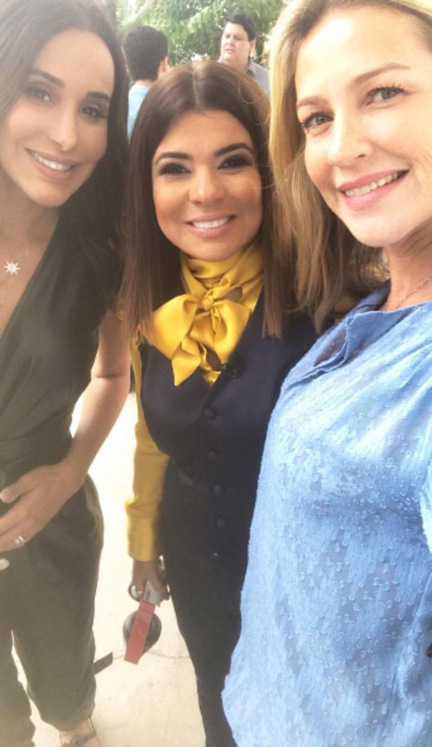 Carol Marra, Mara Maravilha e Luana Piovani  (Foto: Reprodução)